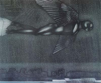 Icaruss, by Mikel Gjokaj