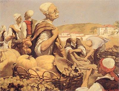 Att the Market, by Enver Jaka