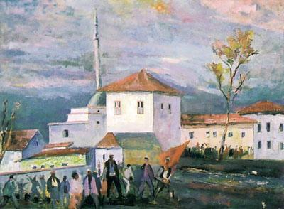 Lidhja e Prizrenit, by Qamil Grezda - Albanian Arts