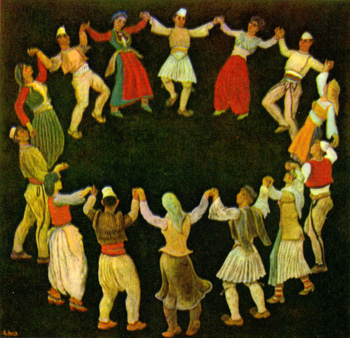 Dancing Albania, by Abdurrahim Buza