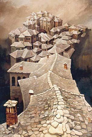 Gjirokastra I, by Shpend Bengu