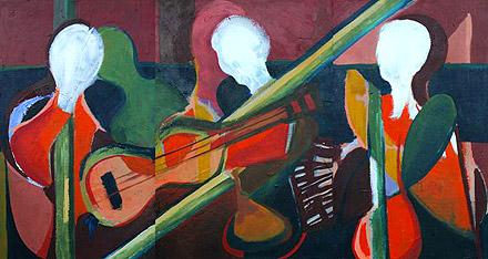 Musicians, by Arjeta Murtezi